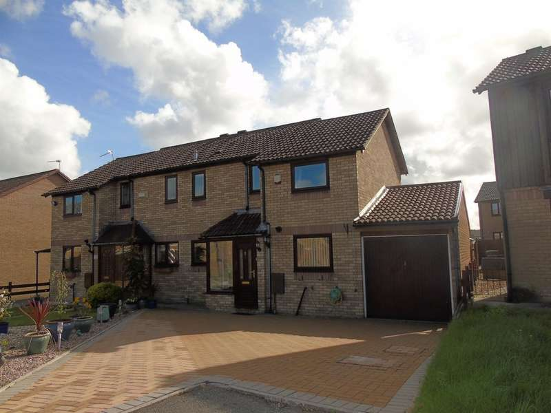 3 Bedrooms Semi Detached House for sale in Magnolia Way, Llantwit Fardre, Pontypridd