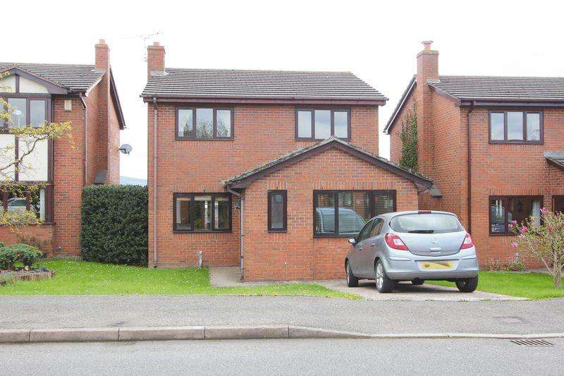 3 Bedrooms Detached House for sale in Y Weirglodd, Denbigh