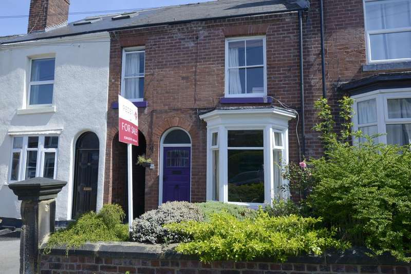 3 Bedrooms Terraced House for sale in Avondale Road, Chesterfield