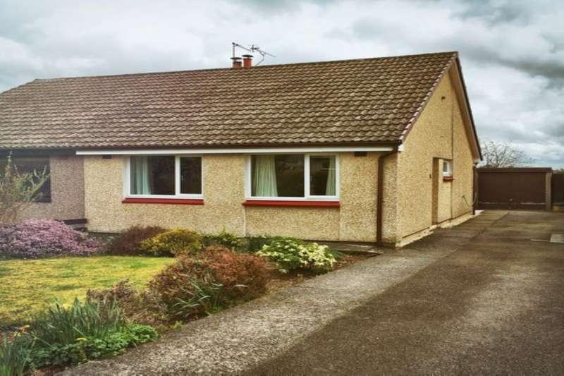 2 Bedrooms Semi Detached Bungalow for sale in Gillbrae Crescent, Dumfries, DG1