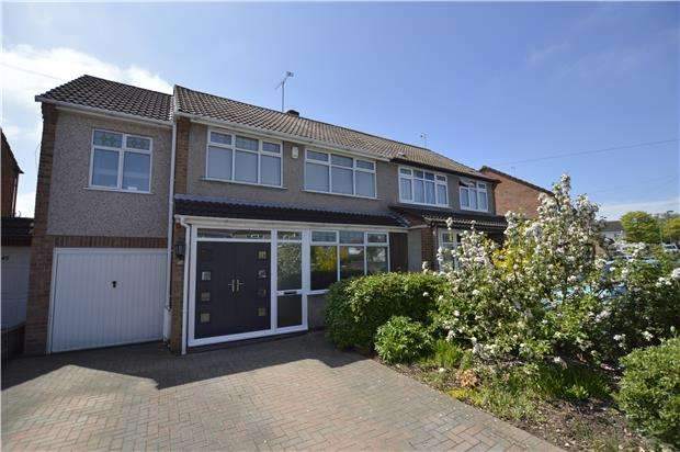4 Bedrooms Semi Detached House for sale in Huckford Road, BS361DX