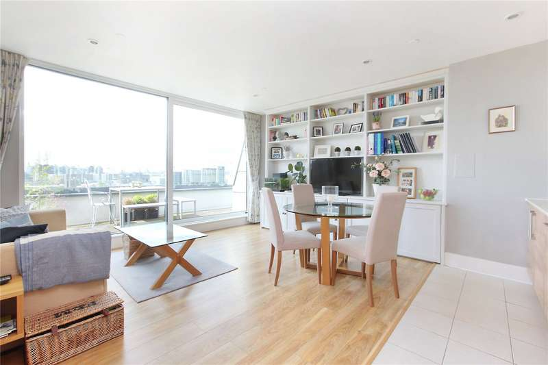 2 Bedrooms Flat for sale in Cornell Square, Wandsworth Road, SW8