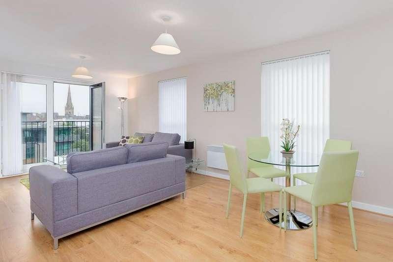 2 Bedrooms Apartment Flat for sale in Sillavan Way, Salford