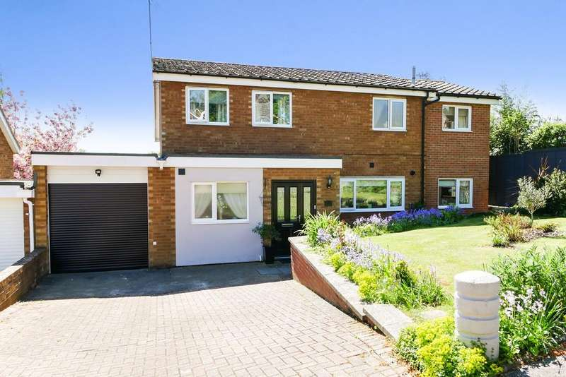 5 Bedrooms Detached House for sale in Rowanhayes Close, Ipswich