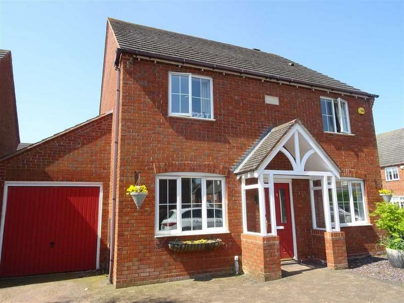 4 Bedrooms Detached House for sale in Pinfold Close, Hinckley
