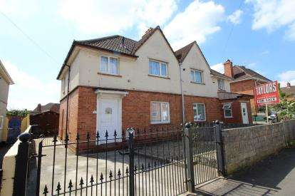 3 Bedrooms Semi Detached House for sale in Tralee Walk, Knowle, Bristol