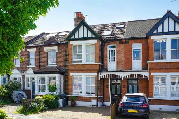 4 Bedrooms Terraced House for sale in Grantham Road, Chiswick