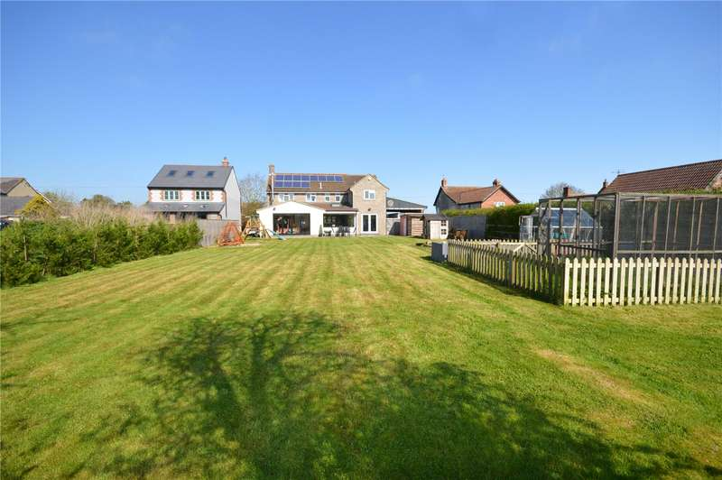 4 Bedrooms Detached House for sale in Folly Road, Kingsbury Episcopi, Martock, Somerset, TA12