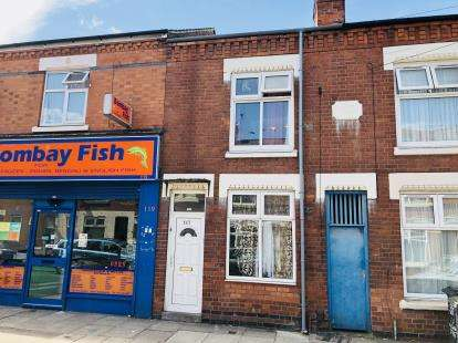 2 Bedrooms Terraced House for sale in Nedham Street, Leicester, Leicestershire, England