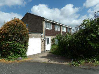 3 Bedrooms Semi Detached House for sale in Braddon Road, Loughborough, Leicestershire