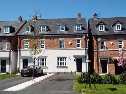 4 Bedrooms Semi Detached House for sale in Appleby Crescent, Mobberley, Knutsford, Cheshire