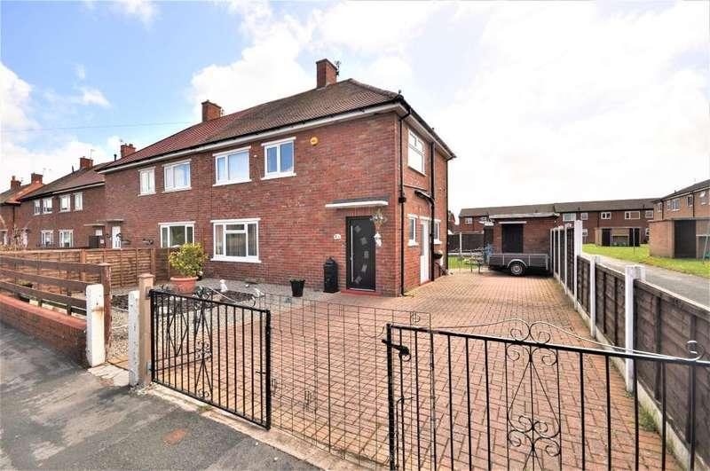 3 Bedrooms Semi Detached House for sale in Walter Avenue, St Annes, Lytham St Annes, Lancashire, FY8 3DJ