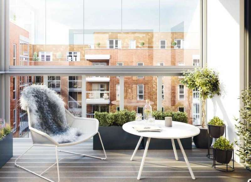 2 Bedrooms Apartment Flat for sale in Burnell Building, Fellows Square, Cricklewood, NW2