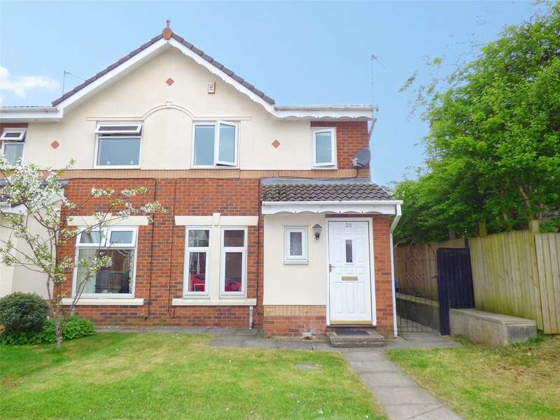 3 Bedrooms Semi Detached House for sale in Lyme Clough Way, Gladewood, Middleton, Manchester, M24