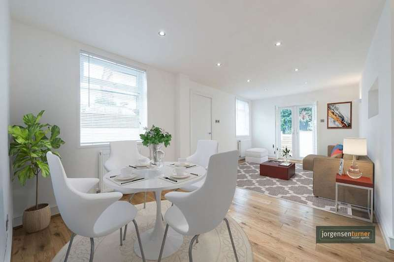 3 Bedrooms Flat for sale in Victoria Road, London, NW6 6QA