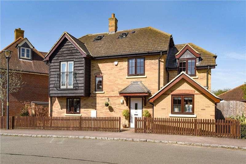 5 Bedrooms Detached House for sale in Goldhawk Road, Monkston Park, Milton Keynes, Buckinghamshire