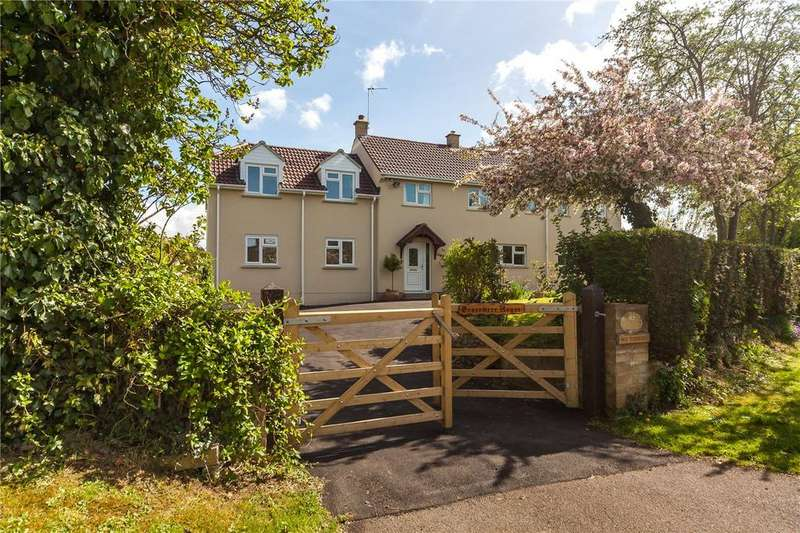 4 Bedrooms Detached House for sale in Seend Hill, Seend, Melksham, Wiltshire, SN12