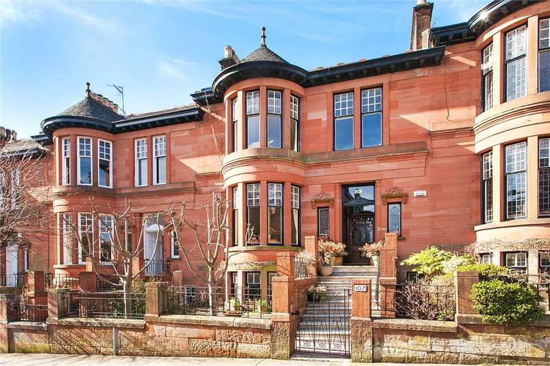4 Bedrooms Terraced House for sale in Dowanhill Street, Dowanhill, Glasgow