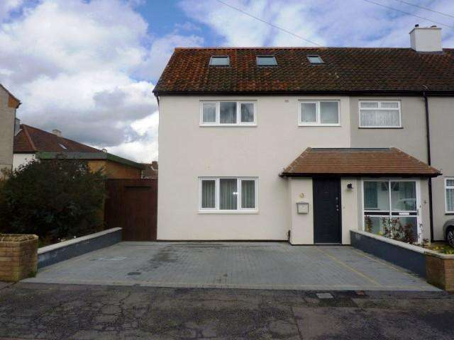 4 Bedrooms End Of Terrace House for sale in Hatherleigh Close, Chessington KT9