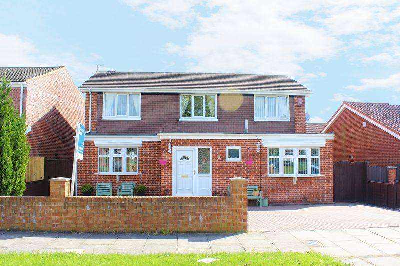 4 Bedrooms Detached House for sale in Foxwood Drive, Elm Tree, Stockton, TS19 0TY