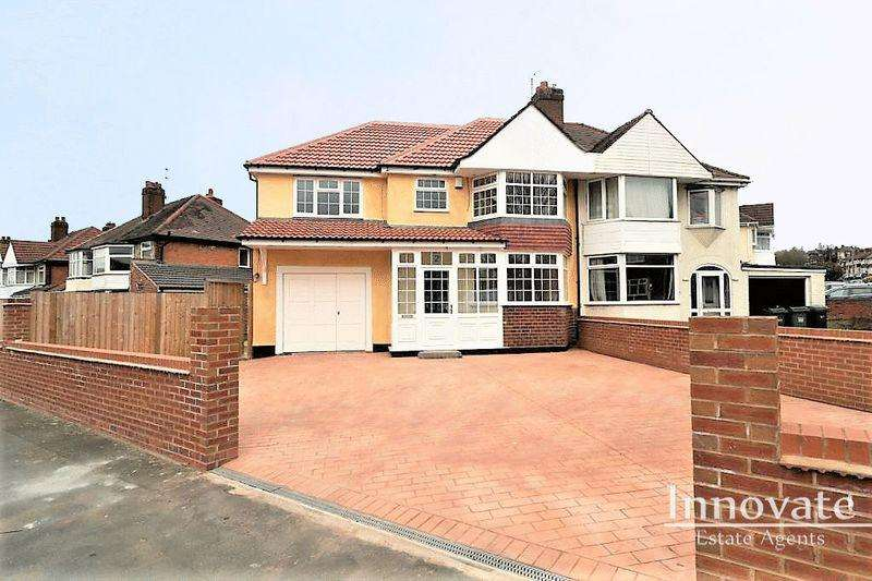 4 Bedrooms Semi Detached House for sale in Parkfield Road, Oldbury