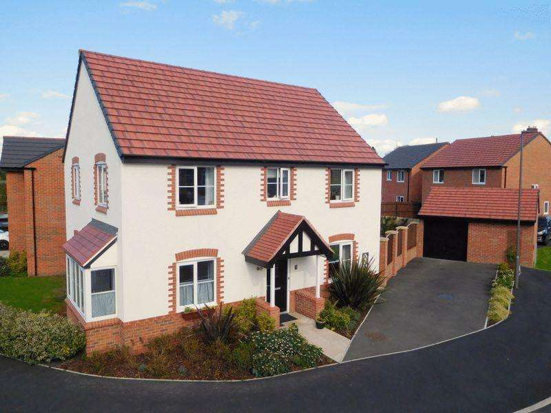 4 Bedrooms Detached House for sale in Copper Beech Road, Shavington