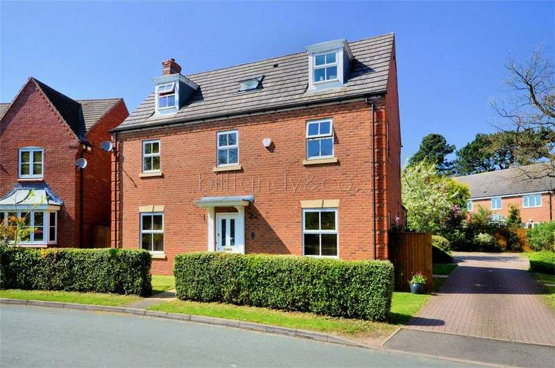 5 Bedrooms Detached House for sale in Nightingale Walk, BURNTWOOD, Staffordshire