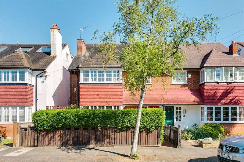 4 Bedrooms Semi Detached House for sale in Tangier Road, Richmond, Surrey