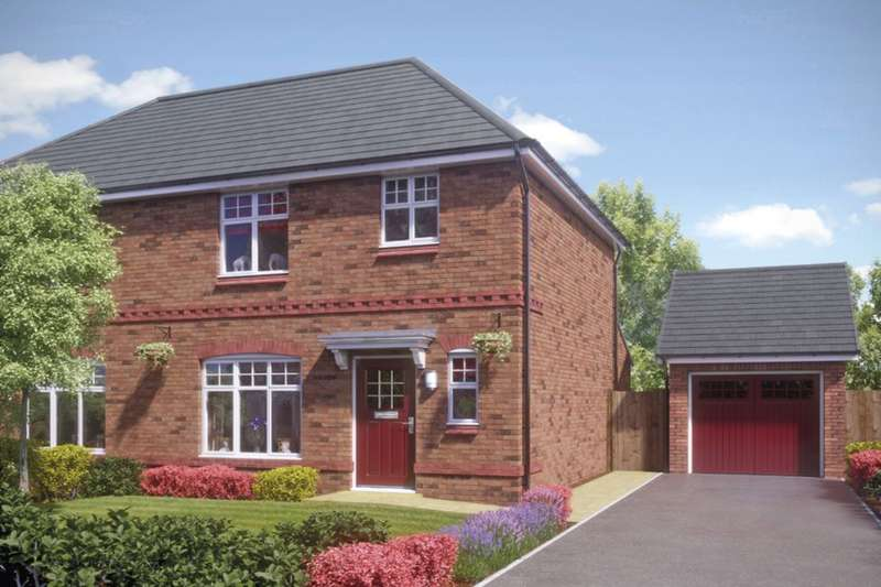 3 Bedrooms Semi Detached House for sale in The Longford, Gloucester Street, Atherton, Manchester, M46