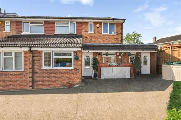 6 Bedrooms End Of Terrace House for sale in Culley Way, Maidenhead, Berkshire