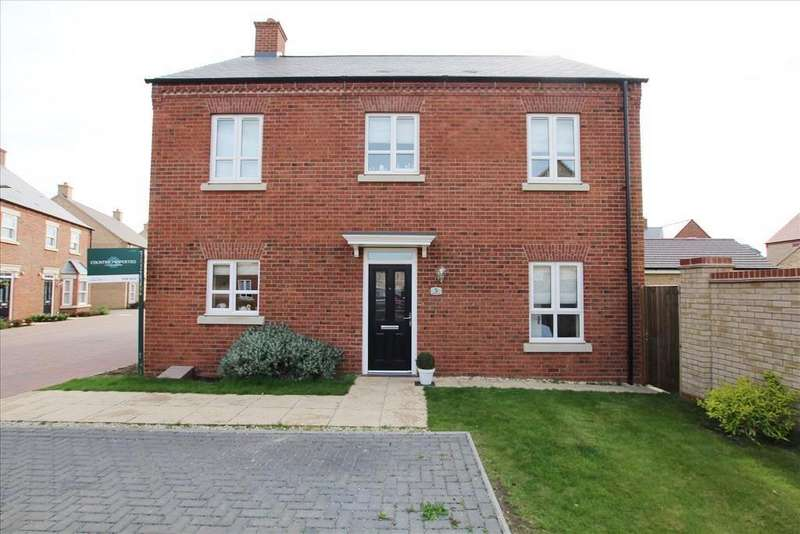 4 Bedrooms Detached House for sale in Wakes Row, Biggleswade, SG18