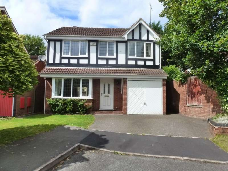 4 Bedrooms Detached House for rent in Tanwood Close, Solihull