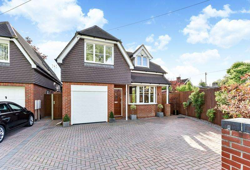 3 Bedrooms Detached House for sale in Redbridge Drive, Andover