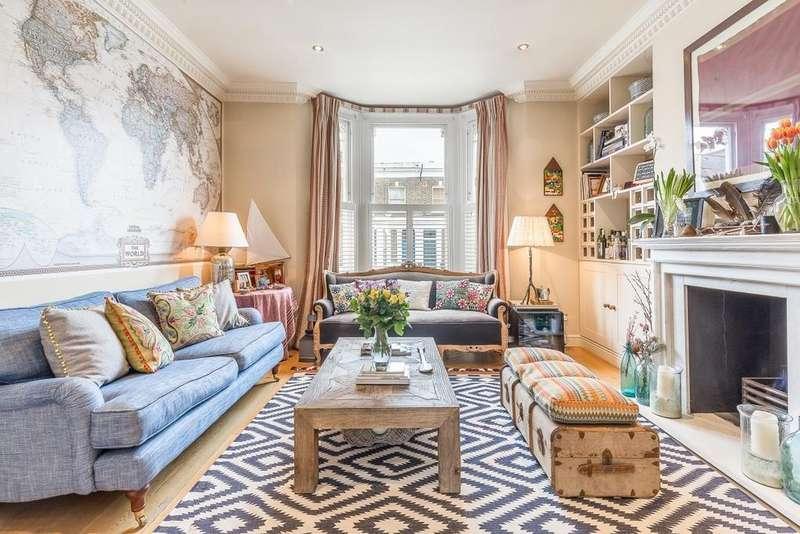 3 Bedrooms Ground Flat for sale in Benbow Road, Brackenbury, London, W6