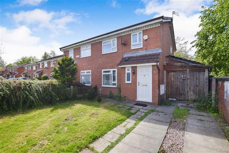 4 Bedrooms Semi Detached House for sale in Brotherton Drive, Trinity, Salford, M3