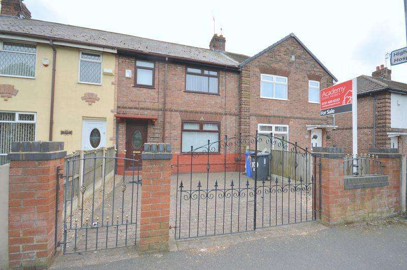 3 Bedrooms Terraced House for sale in Leigh Avenue, Widnes