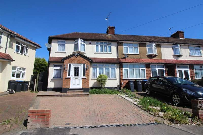 4 Bedrooms End Of Terrace House for sale in Addis Close, Enfield