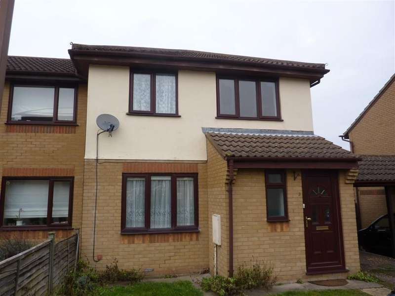 3 Bedrooms Semi Detached House for sale in Kidd Close, Crownhill MK8