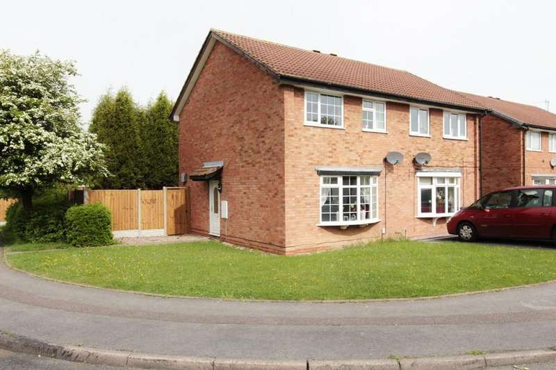3 Bedrooms Semi Detached House for rent in Greenheart, Tamworth