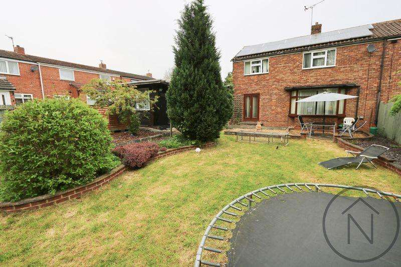 3 Bedrooms Semi Detached House for sale in Watson Road, Newton Aycliffe