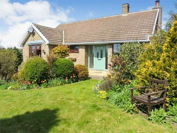 3 Bedrooms Detached Bungalow for sale in Hillcrest Grove, Elwick, Hartlepool, Durham