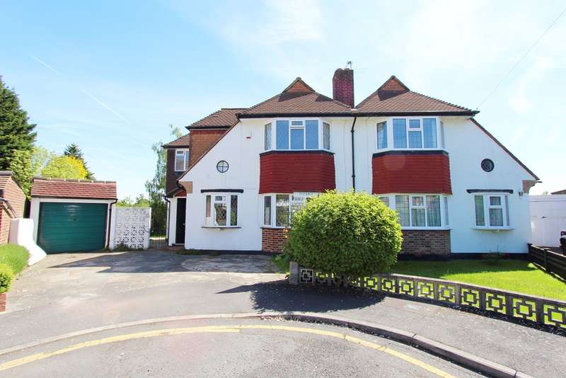 4 Bedrooms Semi Detached House for rent in Hopton Gardens, NEW MALDEN