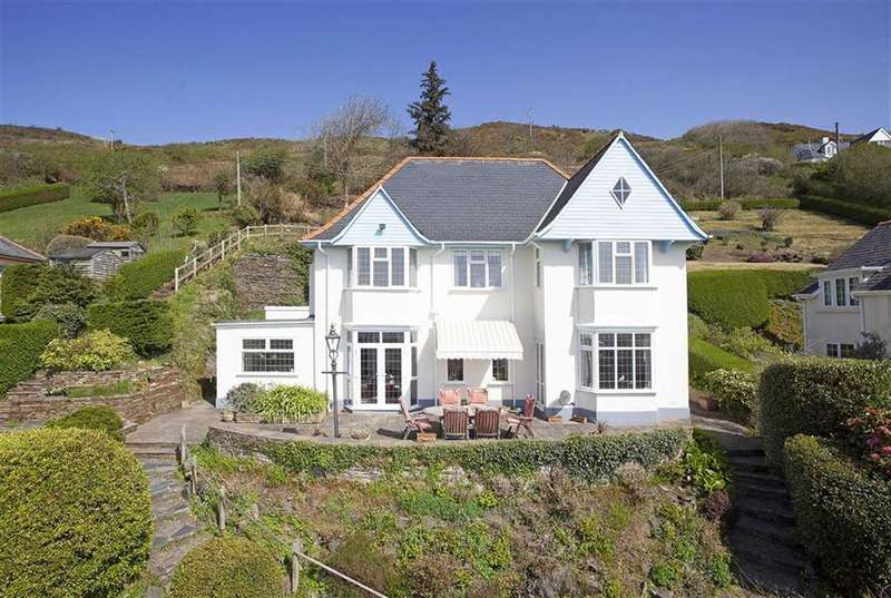 4 Bedrooms Detached House for sale in Warren Point, Rhoslan, Aberdyfi, Gwynedd, LL35