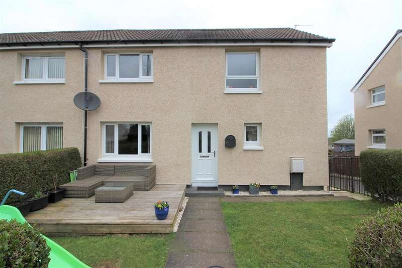 3 Bedrooms End Of Terrace House for sale in Oronsay Avenue, Port Glasgow