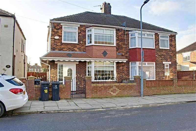 3 Bedrooms Semi Detached House for rent in Merlin Road, Middlesbrough