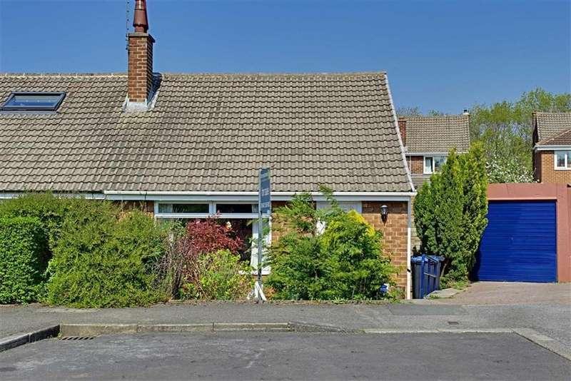 2 Bedrooms Semi Detached Bungalow for sale in Hampton Close, Nunthorpe