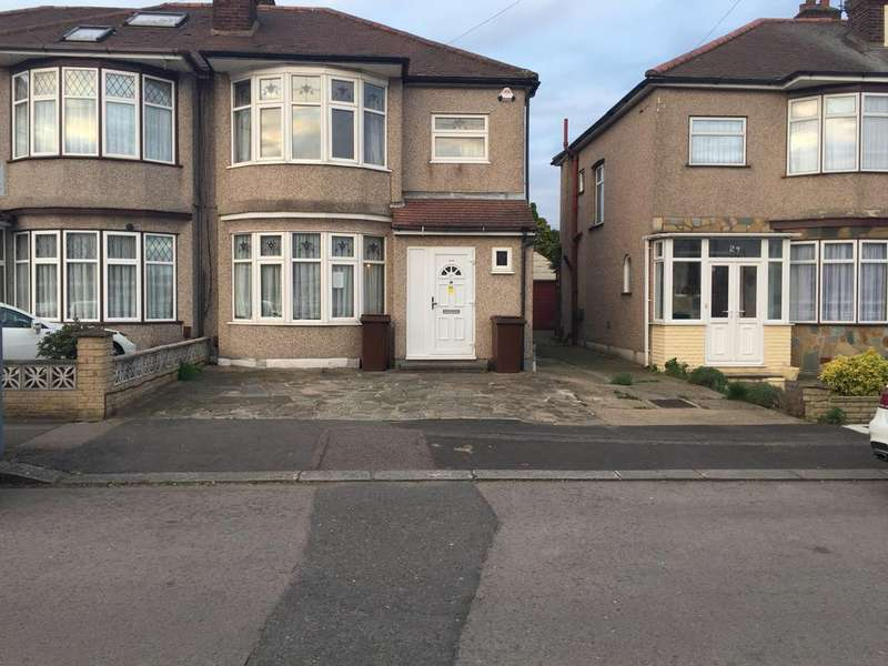 3 Bedrooms Semi Detached House for sale in Denhurst Gardens, Ilford IG4