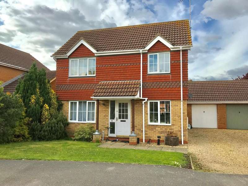 3 Bedrooms Detached House for sale in Harlequin Drive, Spalding, PE11