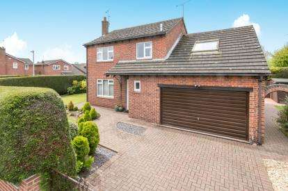 4 Bedrooms Detached House for sale in Ashley Court, Holt, Wrexham, Wrecsam, LL13