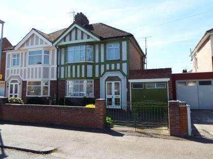 3 Bedrooms Semi Detached House for sale in Brackley Road, Bedford, Bedfordshire